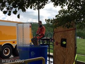 Fire fighter Dunk Tank