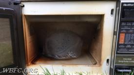Malfunctioning microwave