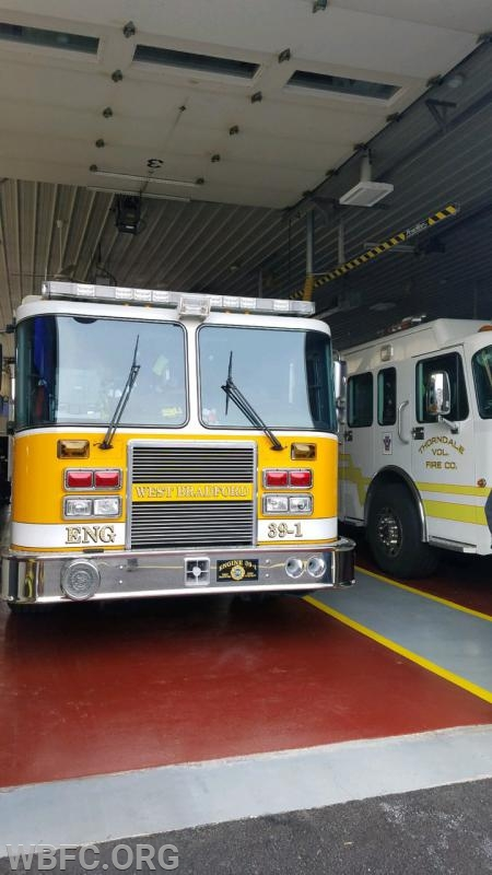 Engine 39-1 at Station 38 for standby