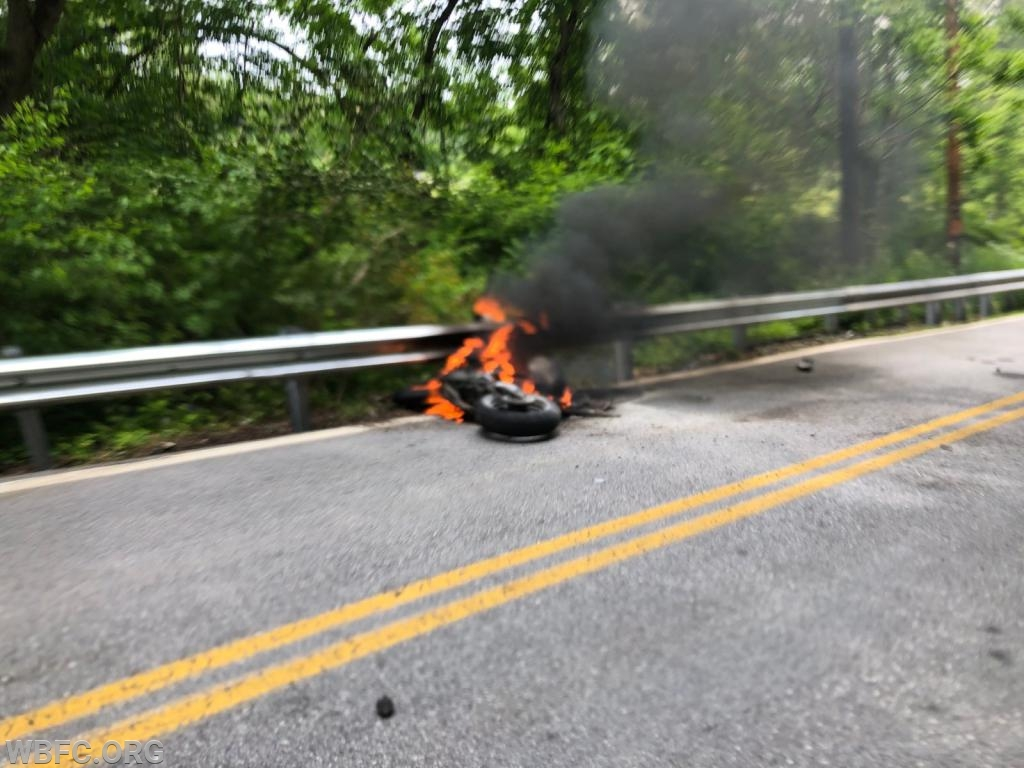Valley Creek motorcycle accident
